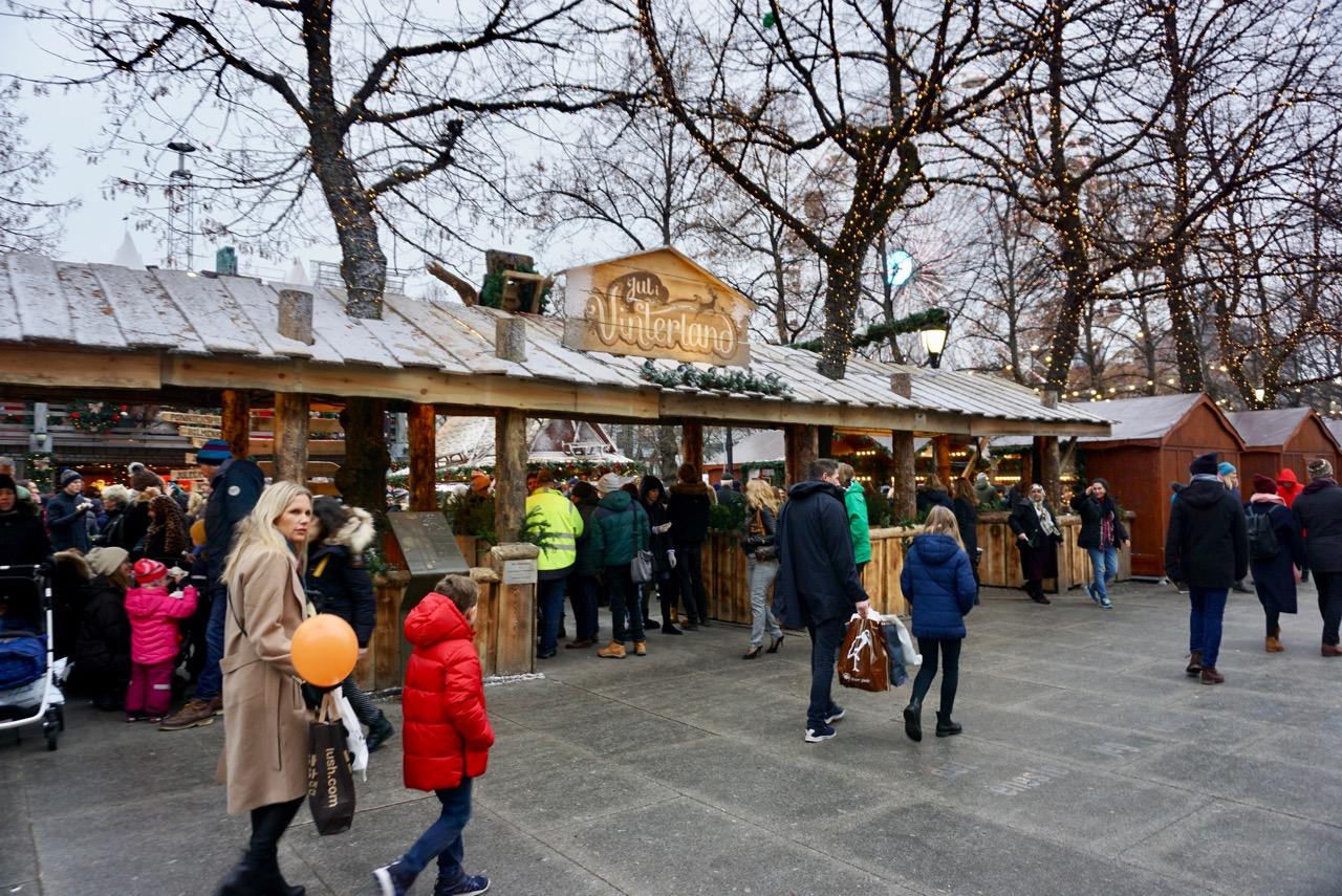 Christmas Market, Oslo, Norway