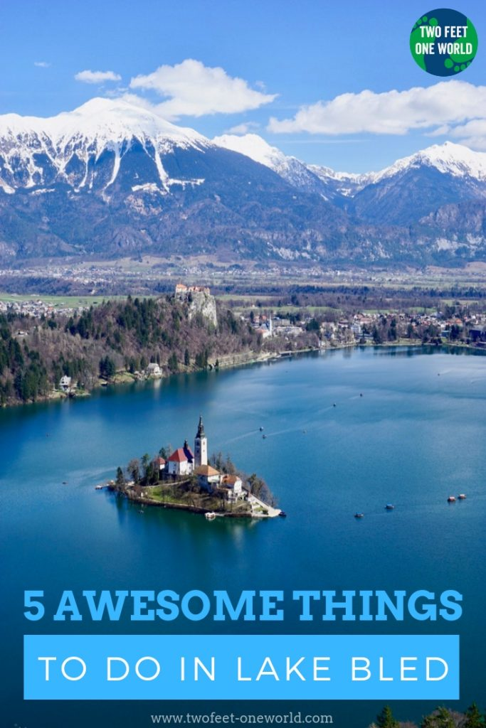 Lake Bled is one of those beautiful postcard-perfect places that it's amazing just to visit - but what do you do when you're there? Read on to find out five awesome things to do in Lake Bled, Slovenia