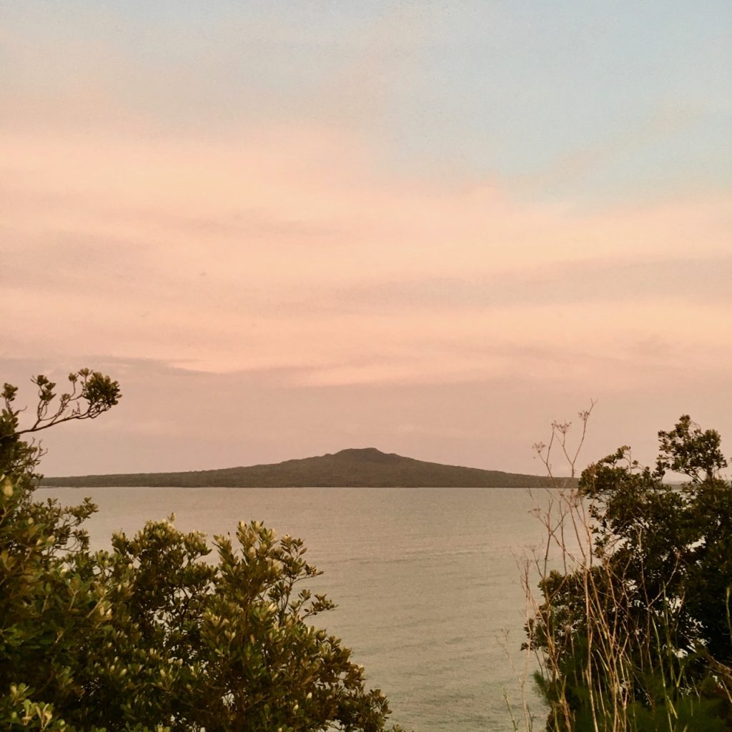 Sunset, Rangitoto Island, New Zealand